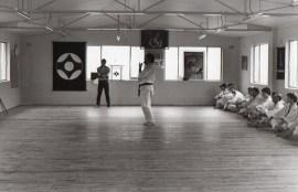 Shihan Howard Lipman grading to 3rd Dan (Sensei)