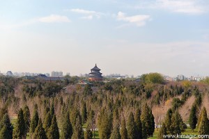 View of Temple of Heaven and Surrounding Park