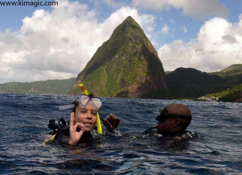 Dive in Saint Lucia