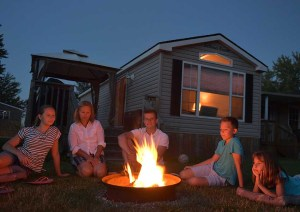 Canada Ontario Family Summer Nights at McReary Beach Resort