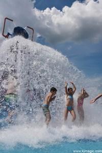 Big water Bucket Bingeman's Splash Park