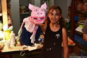 Puppet making workshop with Noreen Young