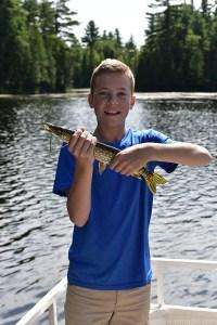 Fishing near Dancing Bass lodge