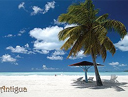 Jolly Beach Antigua Postcard ANU3603