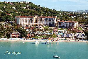 "Sandals Grande, Antigua W.I. Collectible Postcard ANU4624,size 153mm * 102mm ( 6"" x 4"")"