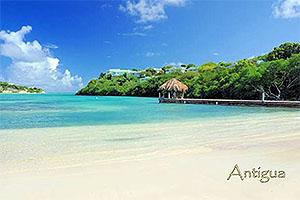 "The Verandah, Antigua W.I. Collectible Postcard ANU4663,size 153mm * 102mm ( 6"" x 4"")"