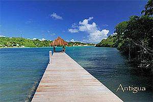 "The Verandah, Antigua W.I. Collectible Postcard ANU4664,size 153mm * 102mm ( 6"" x 4"")"