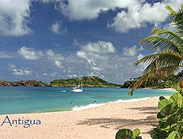 Galley Bay, Antigua Postcard collectible ANU4675
