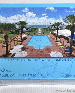 CuisinArt Resort Double Sided Puzzle Anguilla by KiMAGIC
