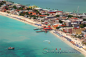 SXM4601 Philipsburg Postcard