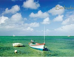 Codrington Lagoon, Barbuda, Collectible Postcard