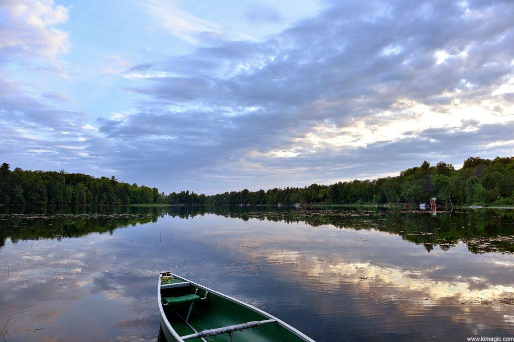 Sunset on the Long Lake, Perth, Ontario