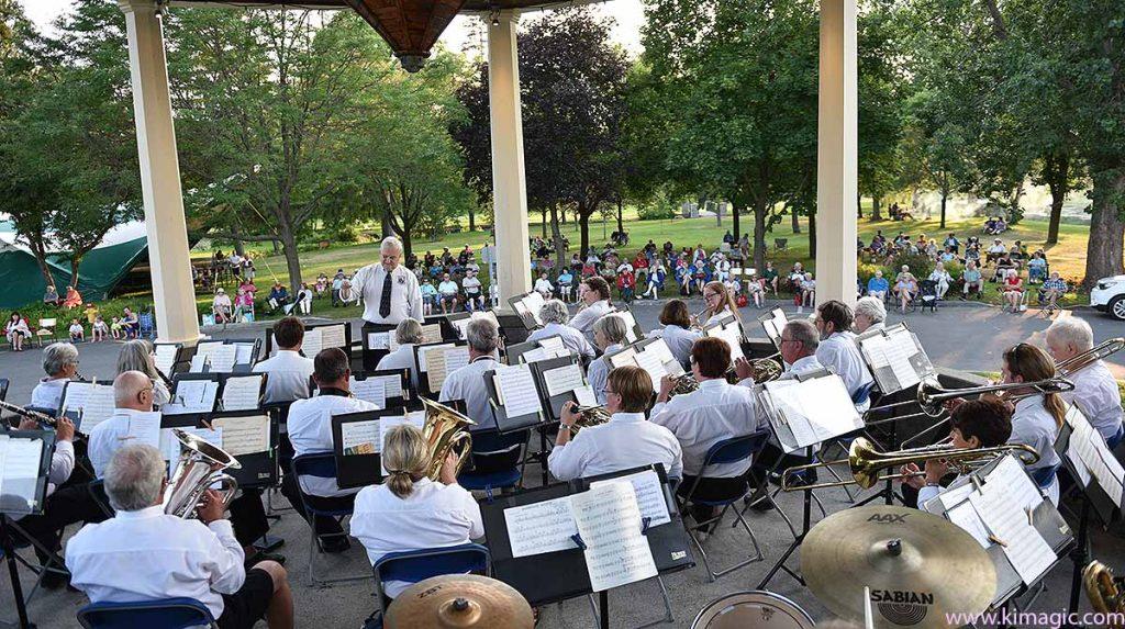 Perth Citizens' Band, Stewart Park, Perth, Ontario