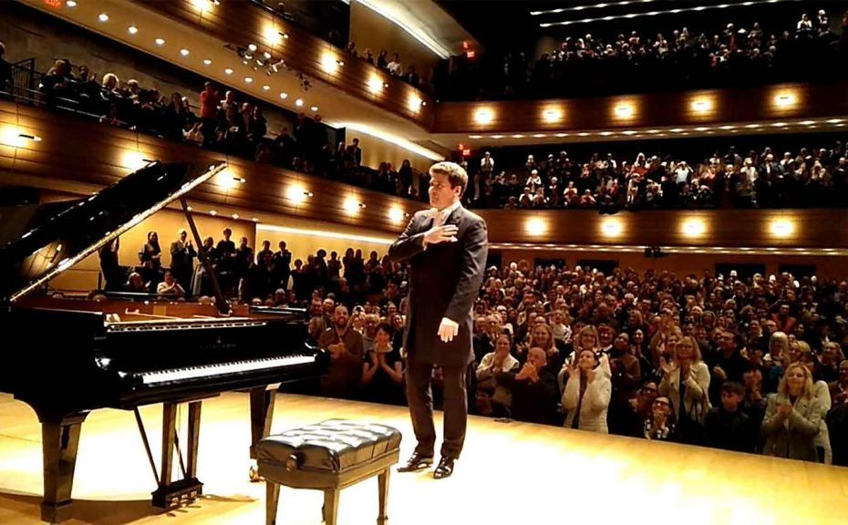 Standing ovation for Denis Matsuev