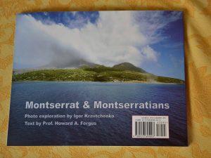 Montserrat and Montserratians, Back Cover, 2005, ISBN
