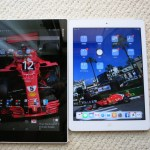 XPERIA Z2タブレットとi pad airの違い