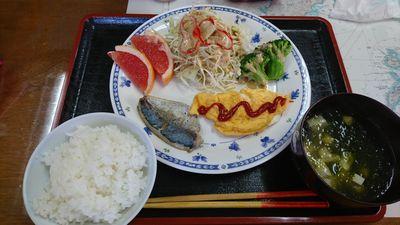 民宿 二日目の朝食