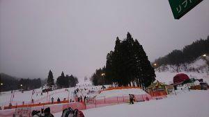 鷲ヶ岳スキー場ゲレンデ