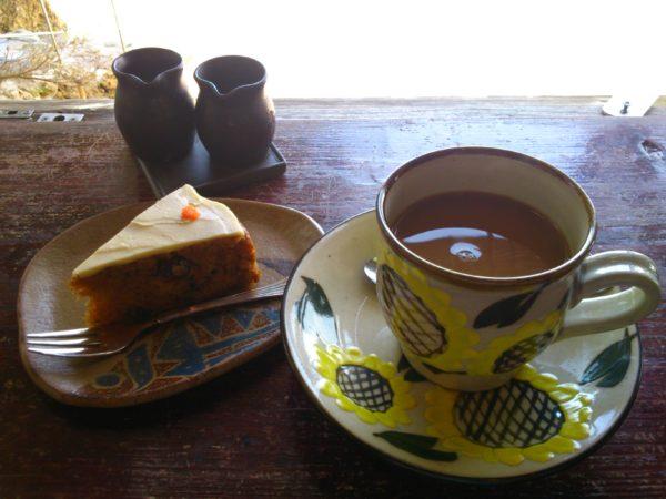 浜辺の茶屋 ケーキセット