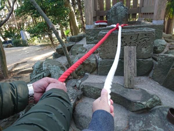おのころじま神社 せきれい石