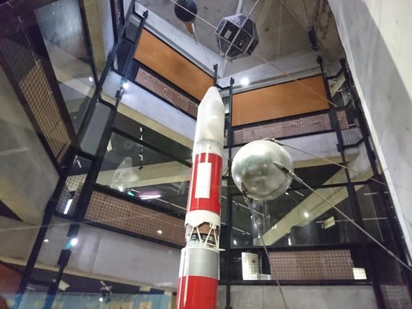 内之浦宇宙科学資料館M3S1 3分の1模型