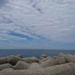 蜃気楼が見られる魚津港