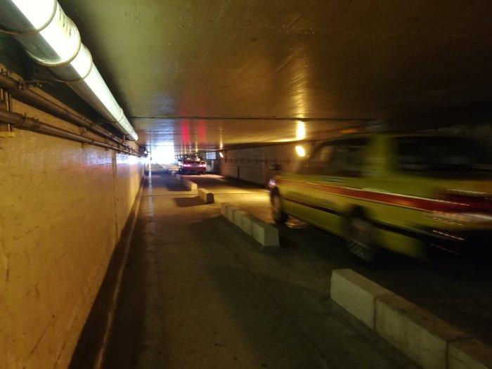 泉岳寺からの地下通路