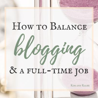 Balance Blogging with a Full Time Job Without Going Crazy