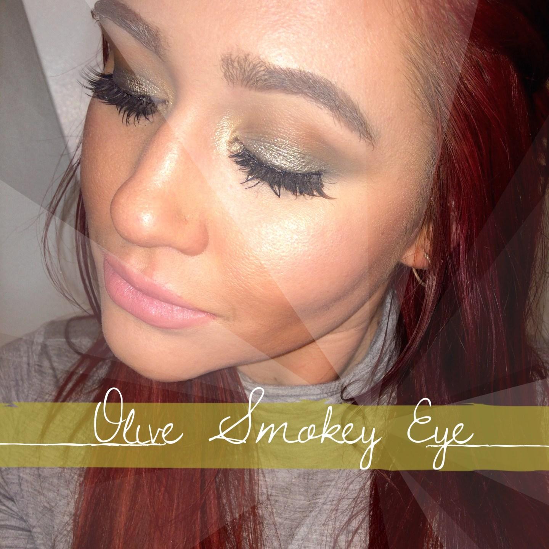 Simple Olive Smokey Eye