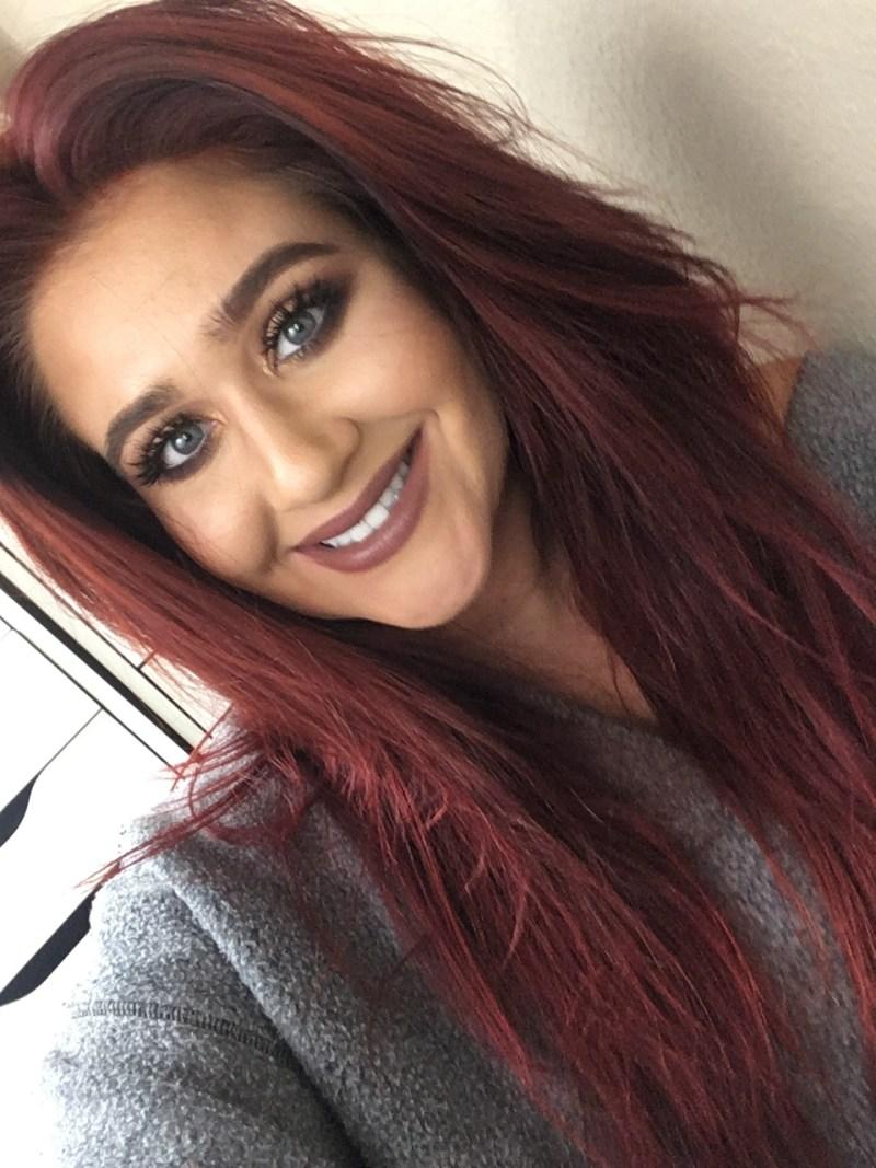 maroon auburn hair color