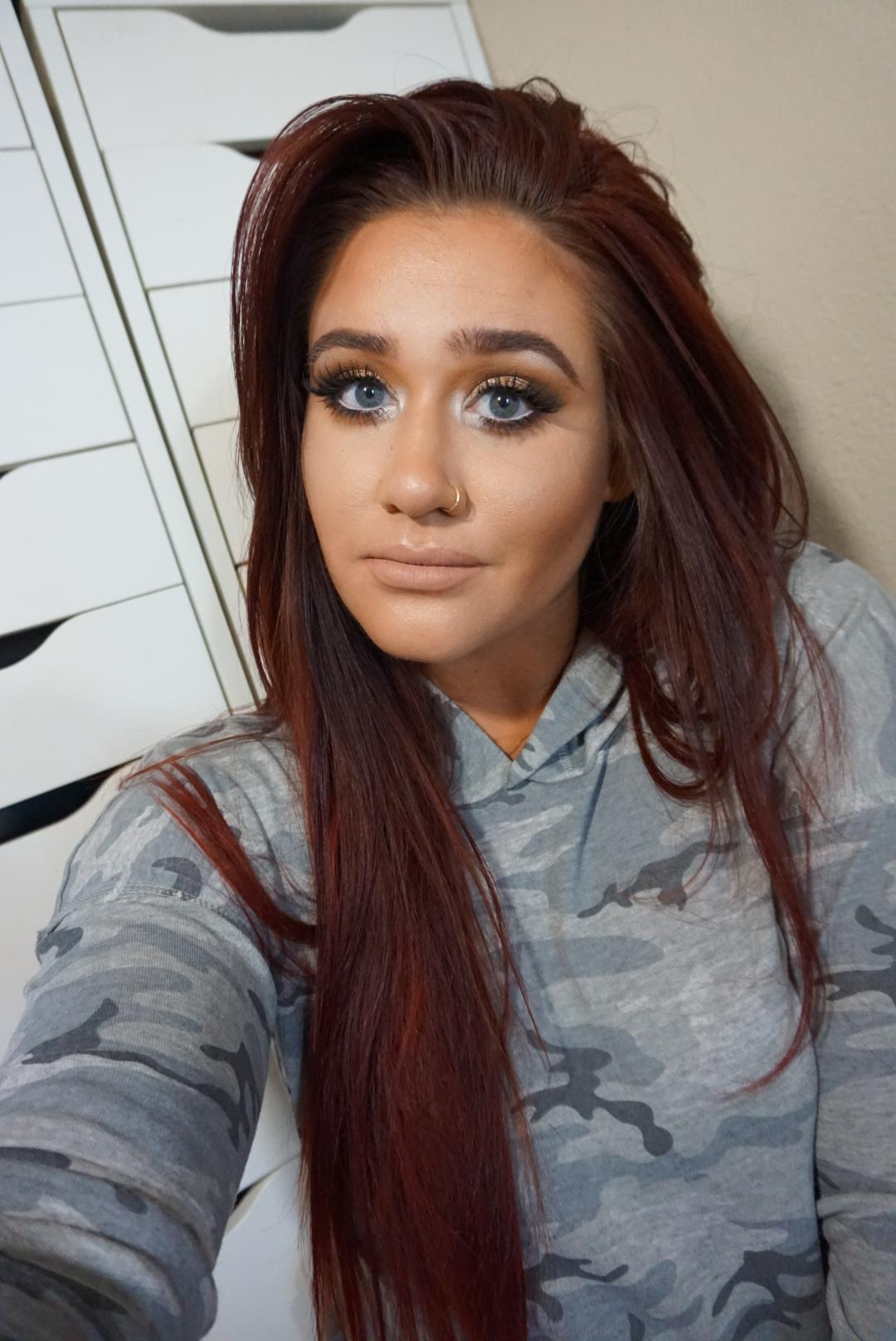 Golden Caramel Eye Look + Lip Combo I Love