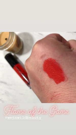 wet n wild flame of the game