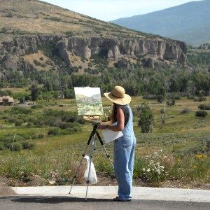 July Lanscapes Plein Air_Jeanne LaRae_all sessions