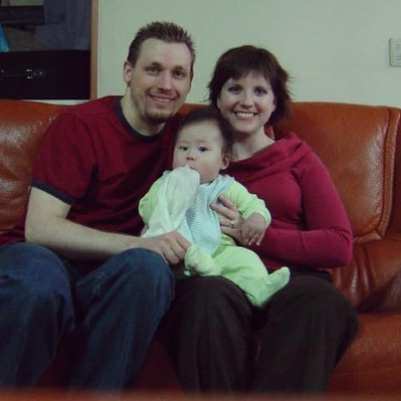 Family Photo of Todd, Kimberly, and Adam