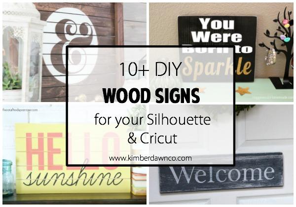 10+ DIY Wood Signs