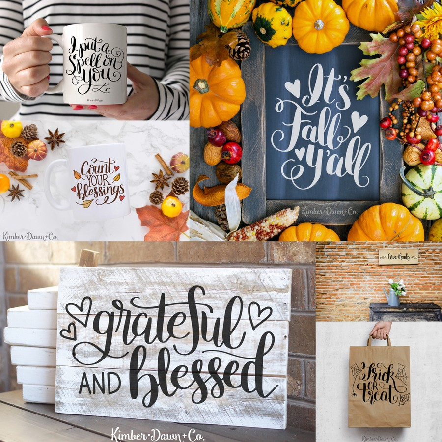 The 2nd Annual Black Friday SVG Cut File Bundle- 50 Commercial Use Cut Files!