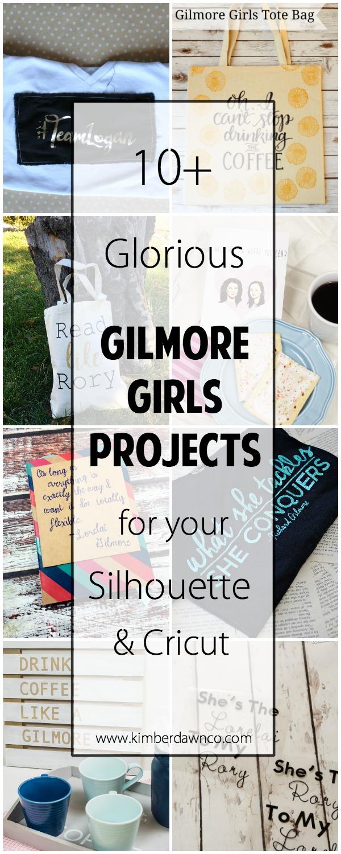 10+ Glorious Gilmore Girls Projects | www.kimberdawnco.com