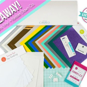 GIVEAWAY!  New Silhouette CAMEO 3 + Lifetime Warranty!!