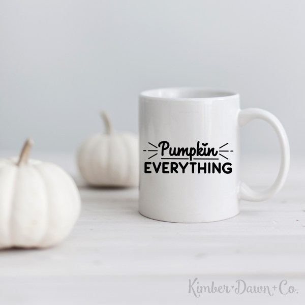 Pumpkin Everything Free SVG Cut File
