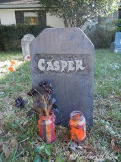 The tombstone of Casper the Friendly Ghost