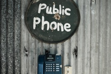 Payphone at Home Valley Station