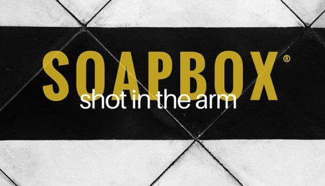 SOAPBOX shot episode graphic