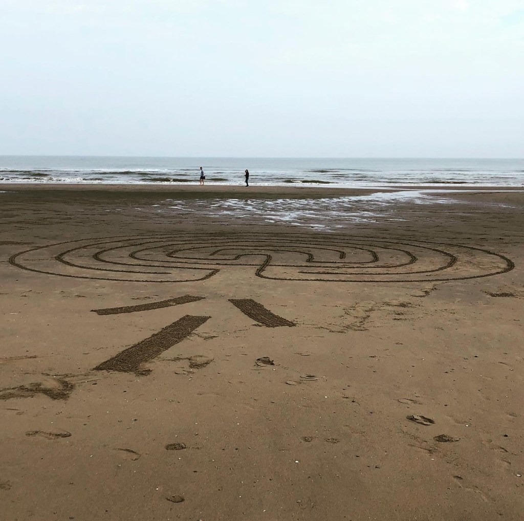 Walking a Sandy Path