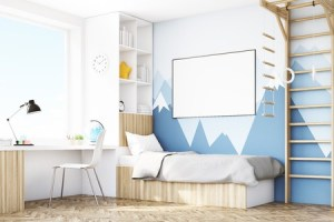 making the most of space ideas in a bedroom