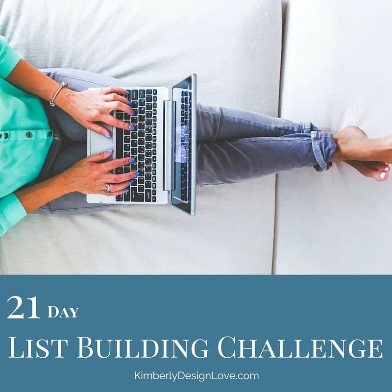 21 Day List Building Challenge Summary