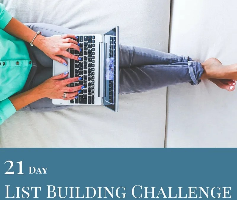 21 Day List Building Challenge – Day 18 – Pop-ups for Your Website