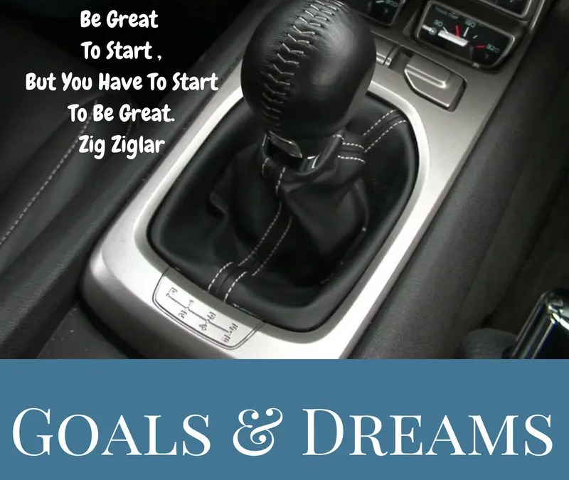 Goals & Dreams Dancing in Your Head