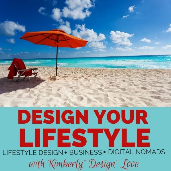 Design Your Lifestyle Podcast Launch ! Woot! Woot!
