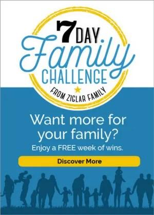 Ziglar 7 day challenge
