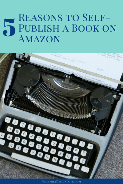Self Publish on Amazon